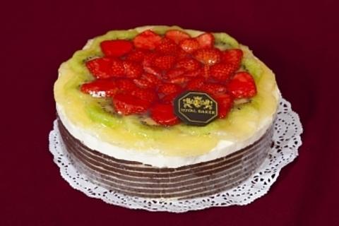 Торт Клубничный презент ИП Базылева Е.Н. 1,3кг