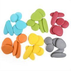 Игровой набор Радужные камешки Junior, природные цвета, Edx education 13229J