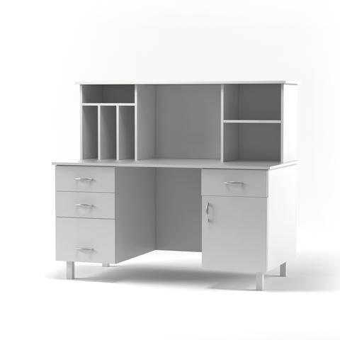 Пост-Стол медицинский для медсестры СМС-01  (мод.1) - фото