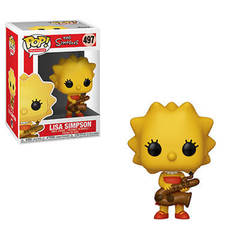 Funko - POP Animation: Simpsons S2- Lisa-Saxphne Brand New In Box
