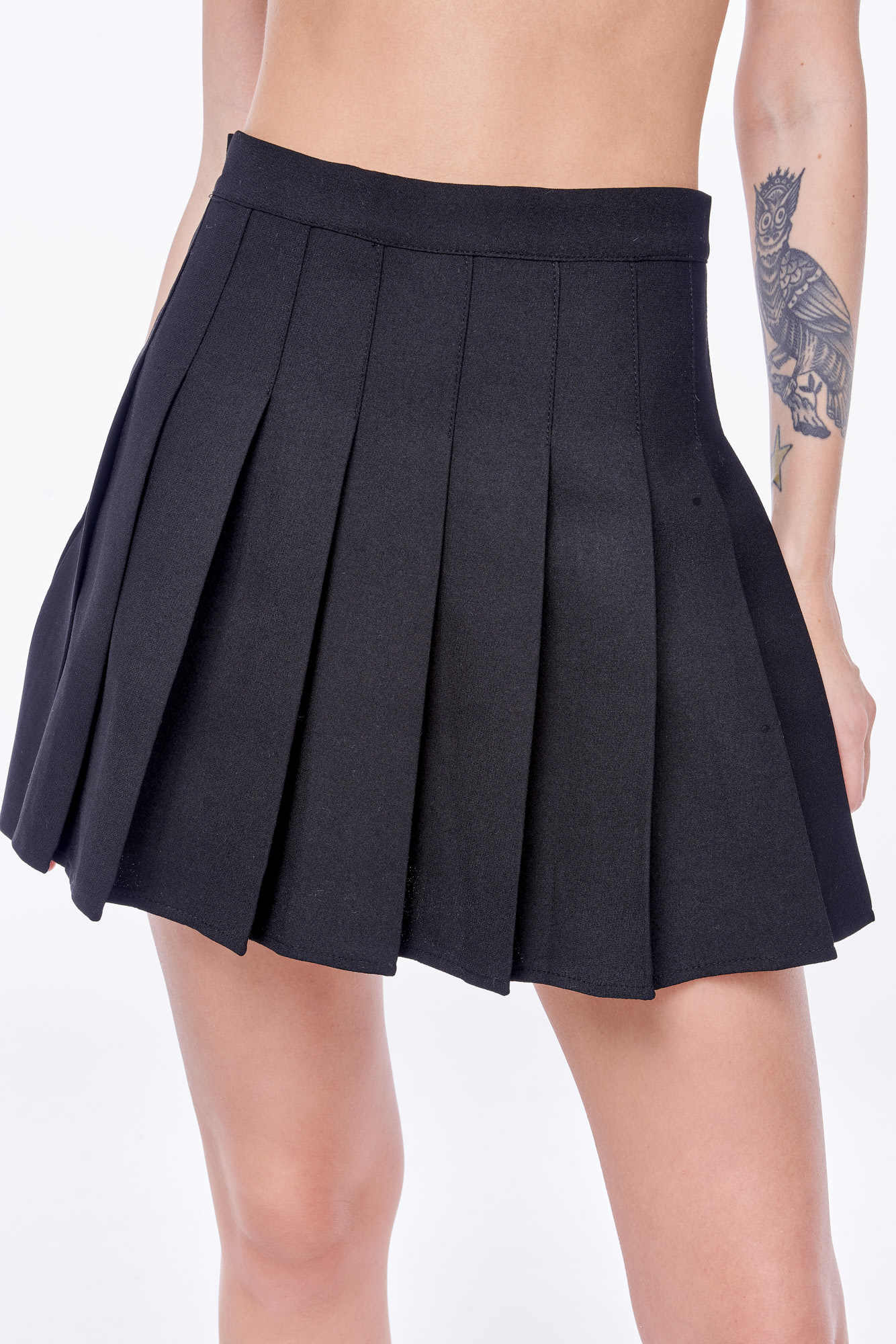 Юбка Feelz Skirt back 2school, Черный