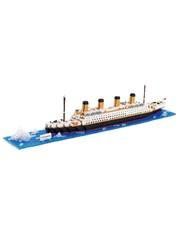 Конструктор Wisehawk & LNO Титаник 1850 деталей NO. 2552 Titanic Gift Series