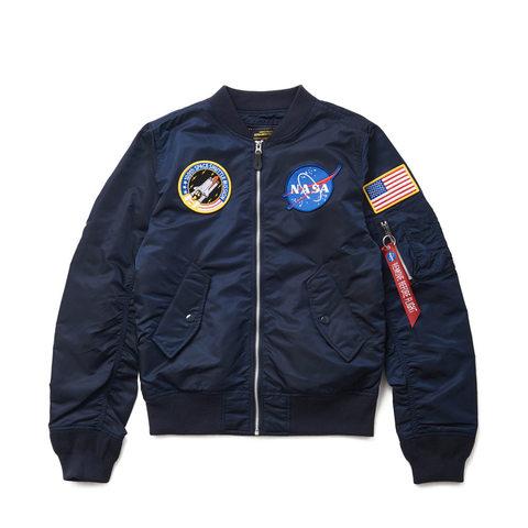 Бомбер Alpha Industries L-2B NASA Rep. Blue (Синий)