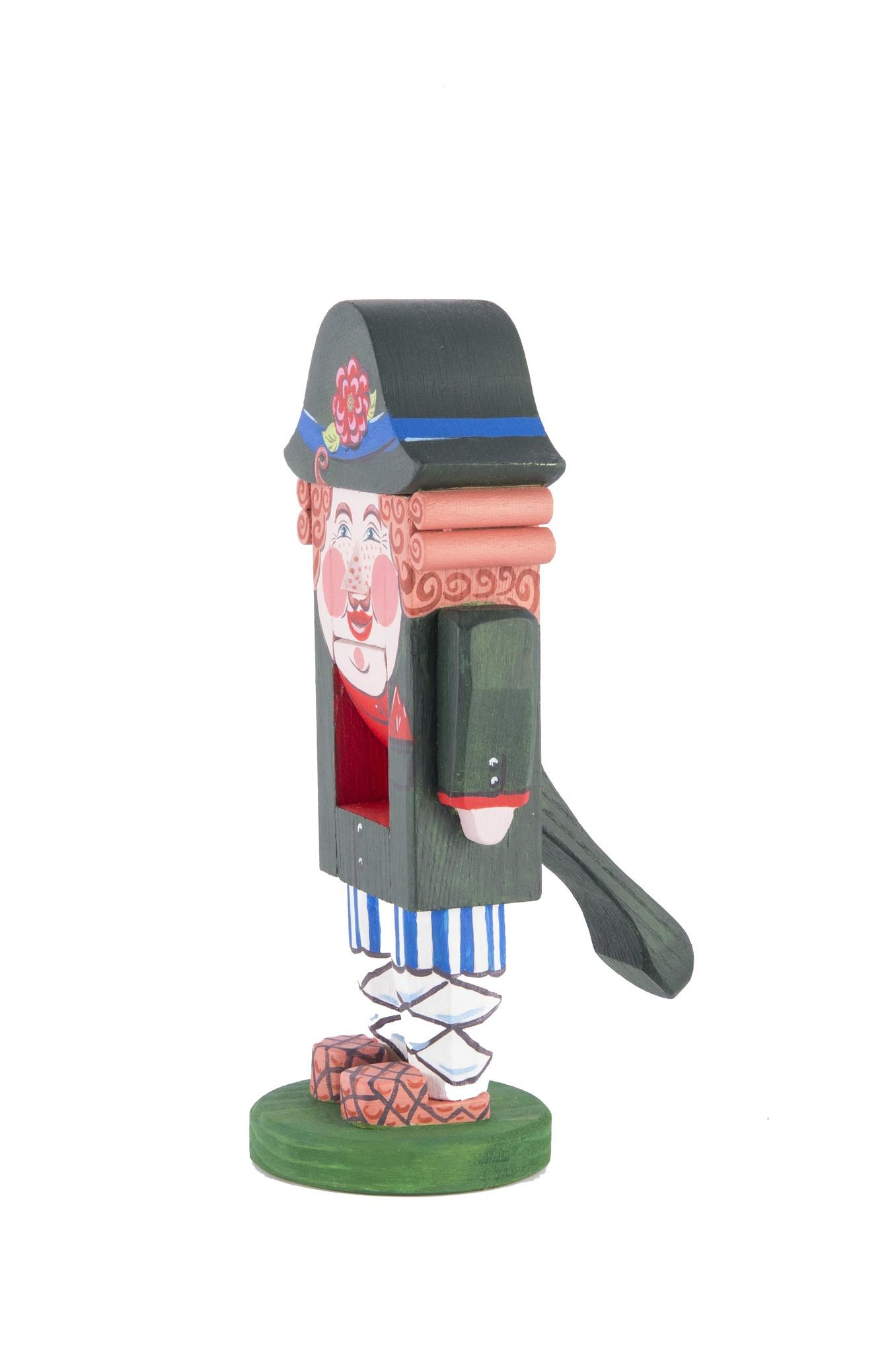 Деревянный щелкунчик орехоколка   «Мужик»