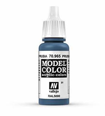 Model Color PRUSSIAN BLUE 17 ml.