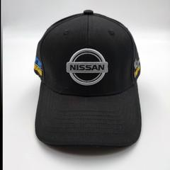 Кепка с логотипом Nissan (Бейсболка Ниссан ) черная 01