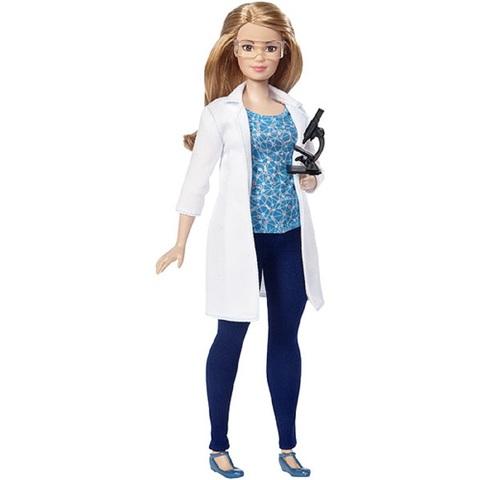 Барби Кем Быть Ученый с Микроскопом