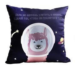 Подушка декоративная Gekoko «Космическая Лама» 2