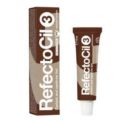 Краска для бровей Refectocil (№ 3,коричневая) 15 мл
