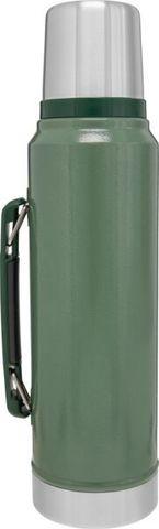 Термос Stanley Classic (1 литр), темно-зеленый