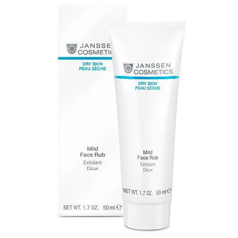 Janssen Dry Skin: Мягкий скраб для лица с гранулами жожоба (Mild Face Rub)