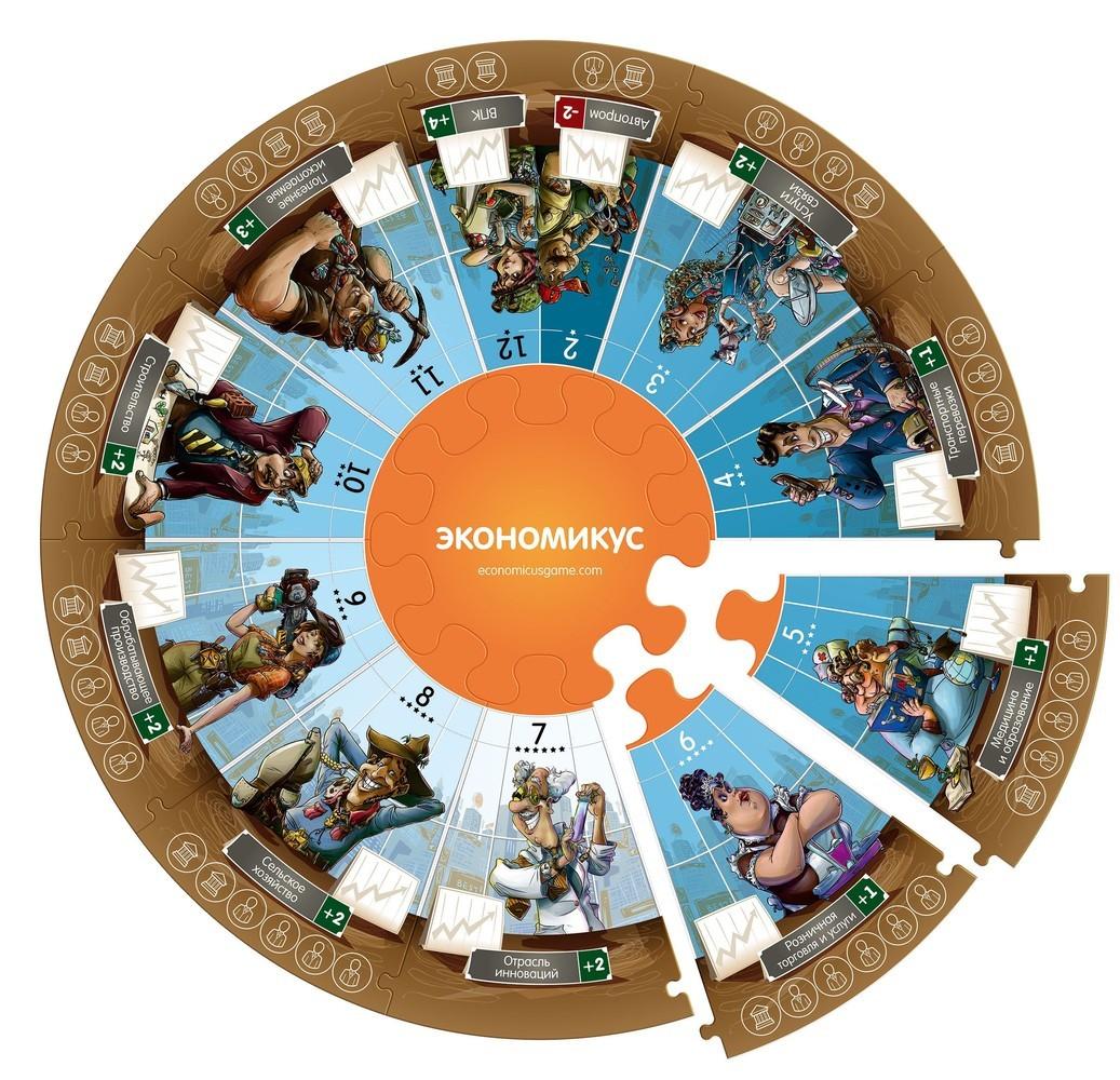 Настольная игра Экономикус 2-е издание