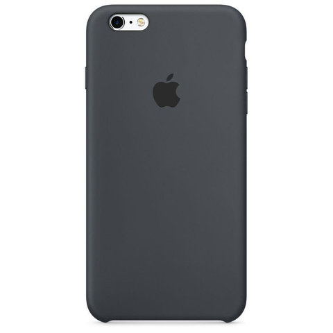 Чехол IP6/6S Silicone Case Black