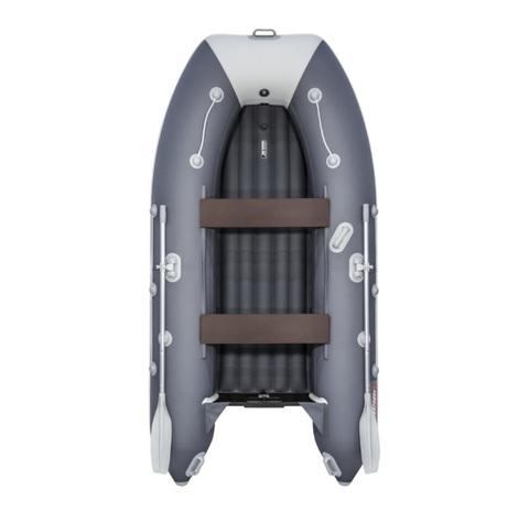 Лодка ПВХ Таймень LX 3200 НДНД Графит/светло-серый