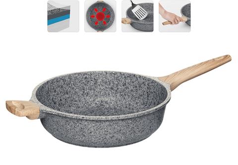 Глубокая сковорода (сотейник) с антипригарным покрытием, MINERALIKA, 28 см 728426 NADOBA