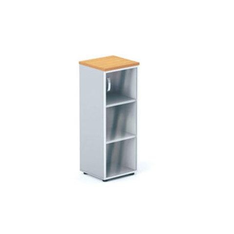 Шкаф узкий со стеклянной дверцей БОСТОН