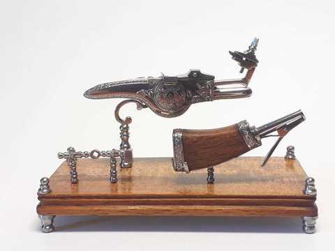 Miniature weellock model scale 1:6