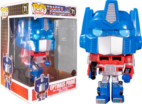 Фигурка Funko Pop! Retro Toys: Transformers - Optimus Prime 10