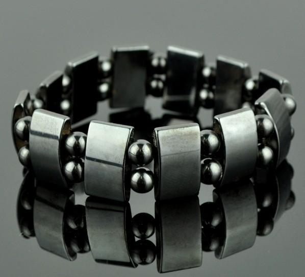 Магнитный гематитовый браслет «Биомаг»