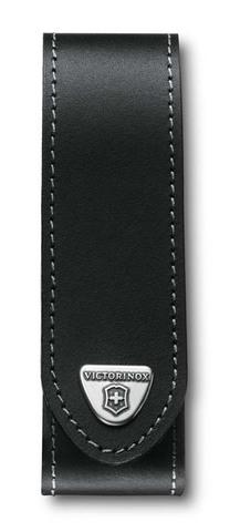Чехол кожаный Victorinox, чёрный, для RangerGrip 130 мм, на липучке