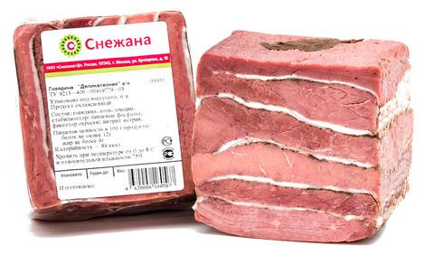 Филей говяжий с перцем  КОЛБАСЫ ИП БАБЕШКИНА 1кг