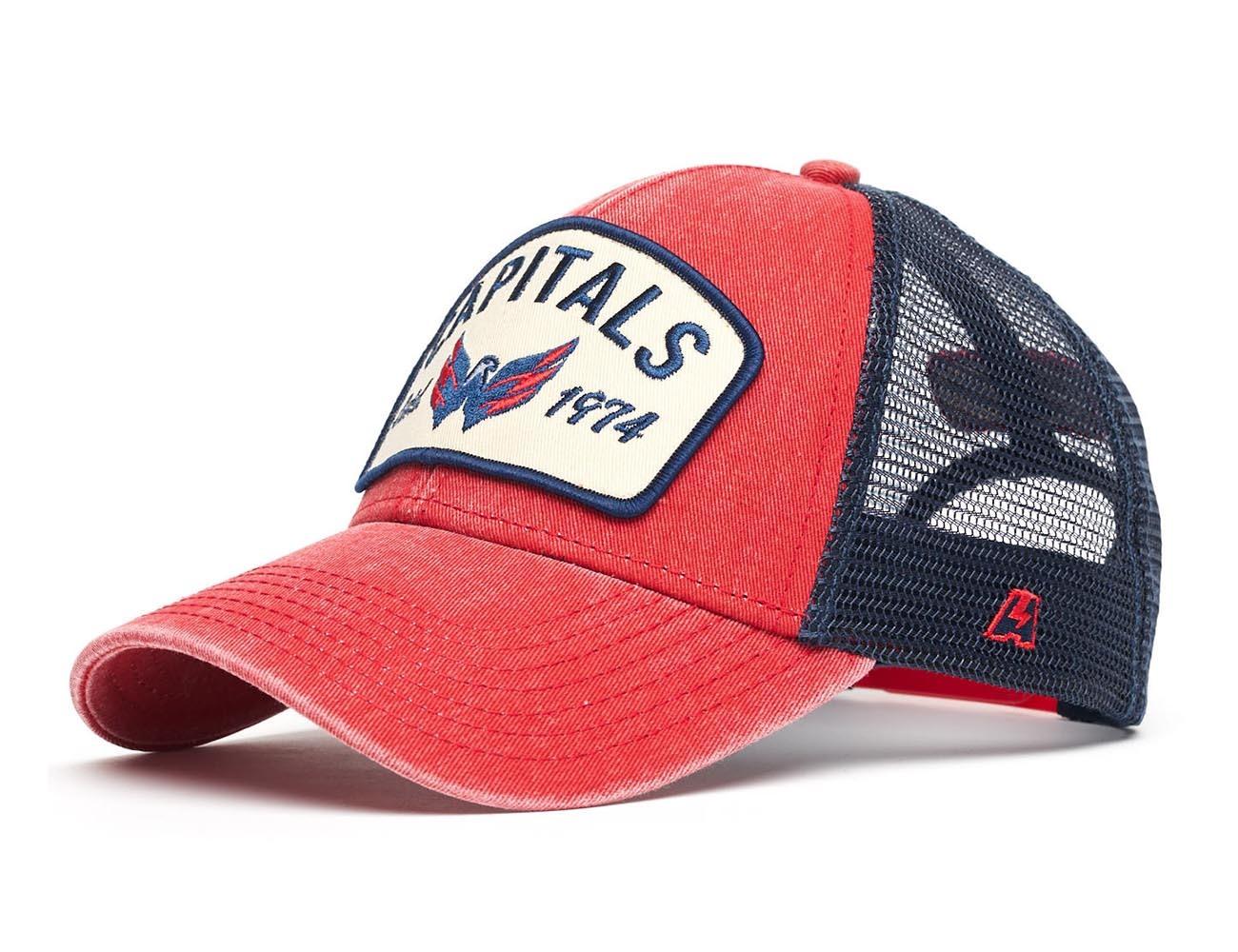 Бейсболка NHL Washington Capitals (подростковая)