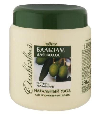 Белита LIFT OLIVE Бальзам для нормальных волос оливковый Питание & Увлажнение 450мл