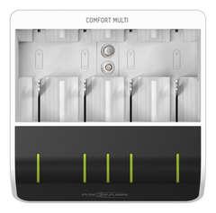 Быстрое зарядное устройство ANSMANN Comfort Multi с USB для NiMH-AAA/AA/C/D/E