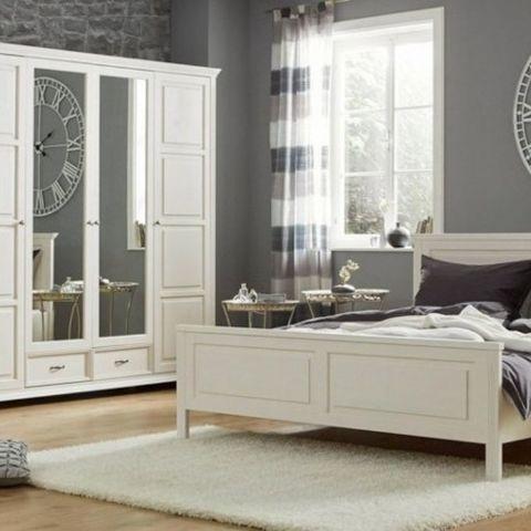 Набор мебели для спальни Елена 3 (белый лак)