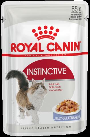 Royal Canin Instinctive желе для взрослых кошек