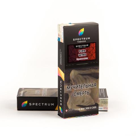 Табак Spectrum Hard line Fire wine (Пряное вино) 100 г