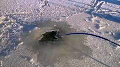 Hailea aco 9720 аэрация в пруду зимой