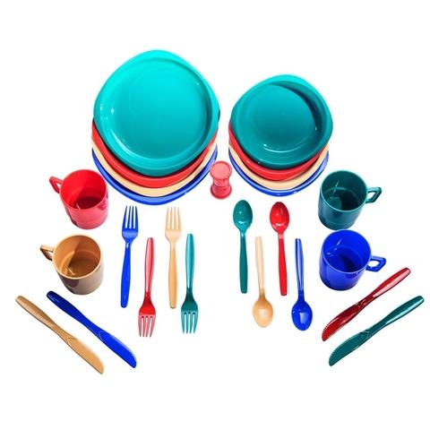 Tramp набор посуды пластиковой (4 персоны) TRC-053 (пластик)