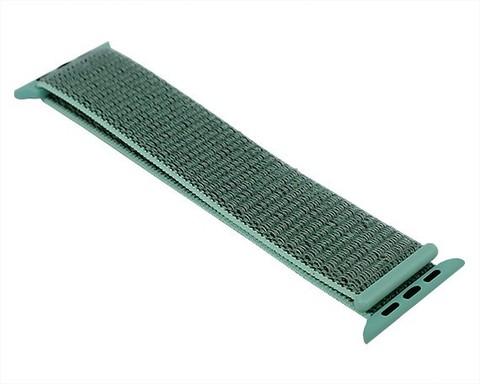Ремешок для Apple Watch 42mm/44mm | нейлон морской зеленый