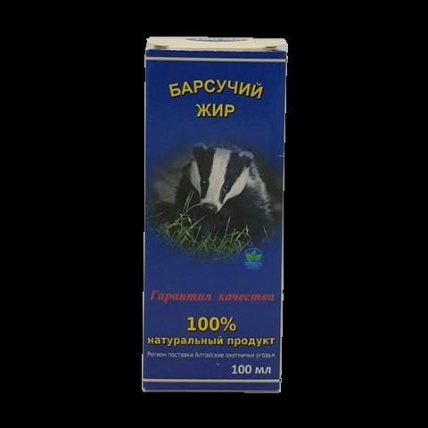 Барсучий жир БЕЛОВ, 100 мл