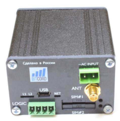 BITCORD PRO2 BGS2 RS232/RS485 AC KIT, GSM/GPRS МОДЕМ (Снят с производства)