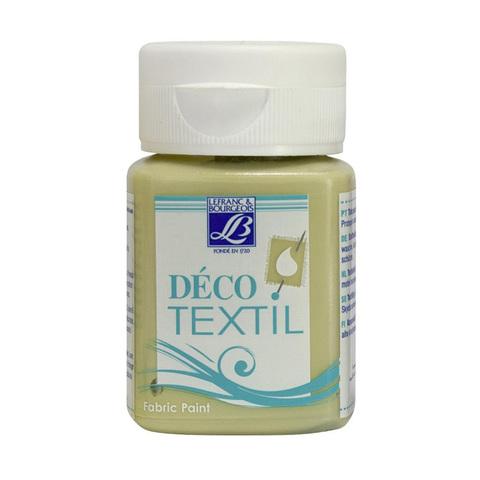 Краска по ткани Lefranc&Bourgeois DECO TEXTIL 50 мл 581, вербена