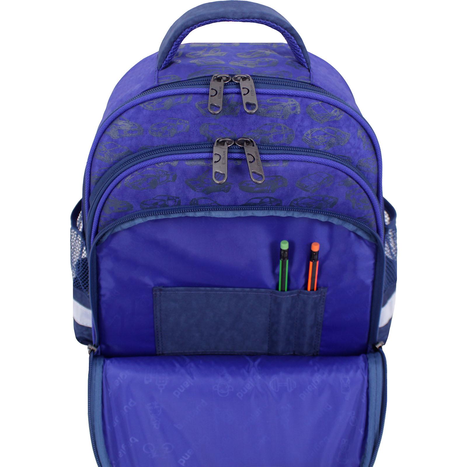 Рюкзак школьный Bagland Mouse 225 синий 56м (0051370) фото 6