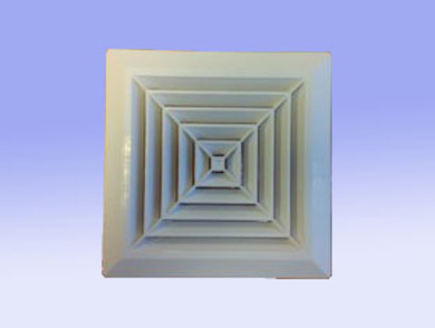 Решетка 160х160 D 100 (пк 160/100)