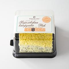 """Торт-пирожное """" Королевская ватрушка Мак"""" 130 г"""
