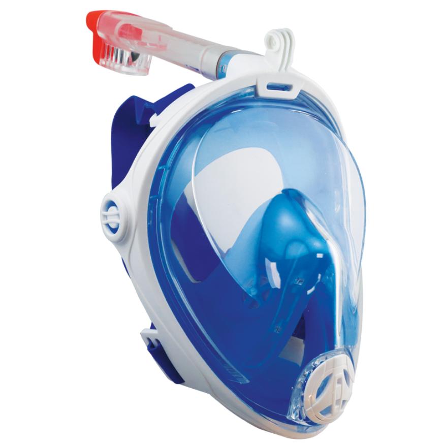 Snorkel Μask, Full-Face, Blue