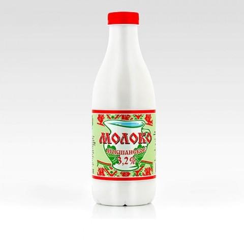Молоко Мокшанское 3.2% (Пастер) бут ИП