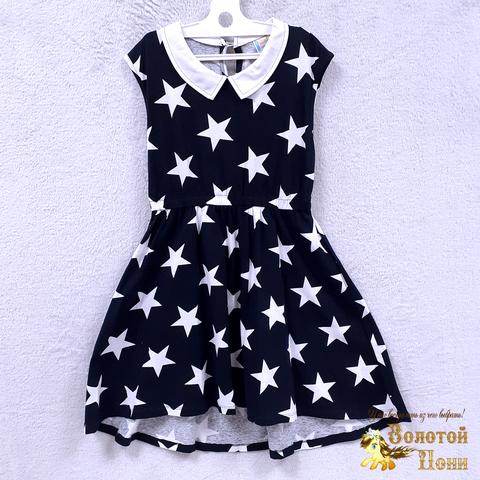 Платье хлопок подростковое (10-11) 210302-OF7570