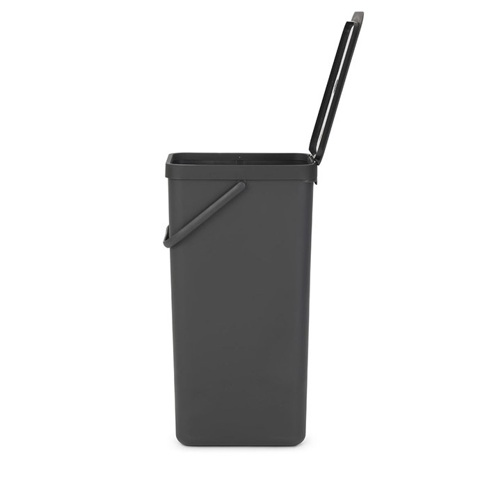 Встраиваемое мусорное ведро Sort & Go (40 л), Серый, арт. 251047 - фото 1