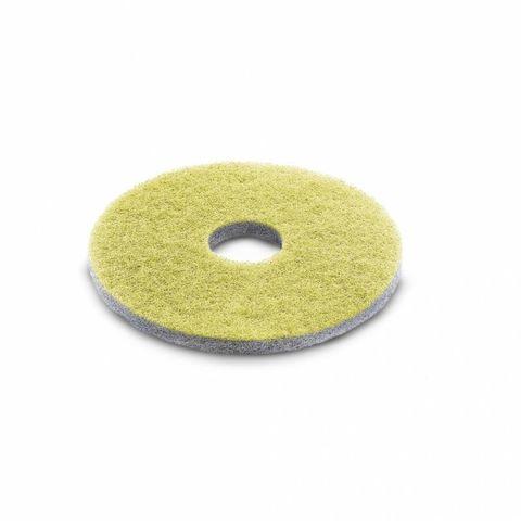 Алмазный пад, Karcher средний, желтый, 385 mm