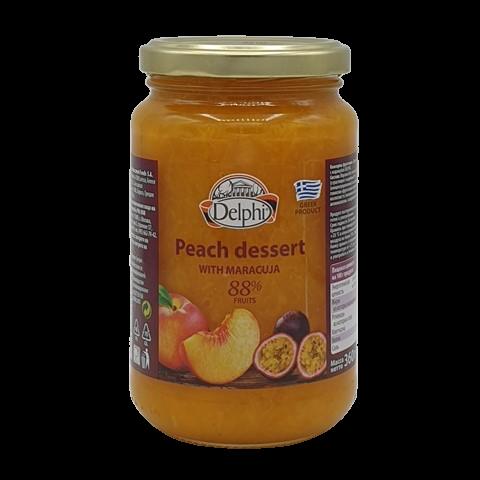Десерт персиковый с маракуйей DELPHI, 360 гр