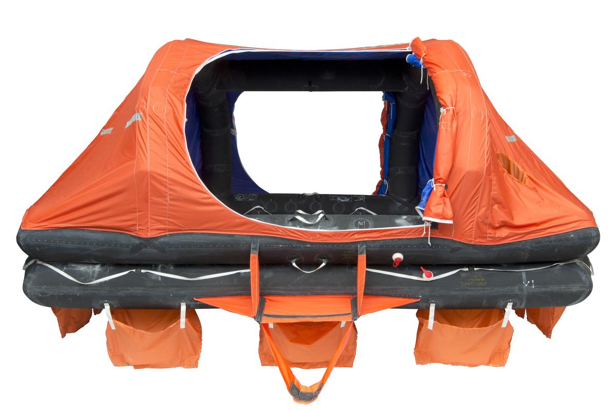 Liferaft - VIKING, 25DKS, throw overboard, self-righting, (25 pers.)