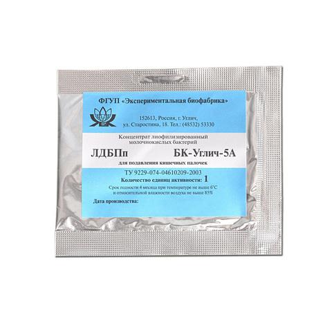 Мезофильная закваска БК-УГЛИЧ-5А, 1ЕА