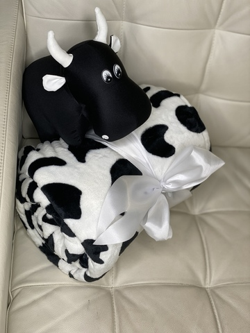 Плед с рукавами Gekoko Premium «Коровка» 3