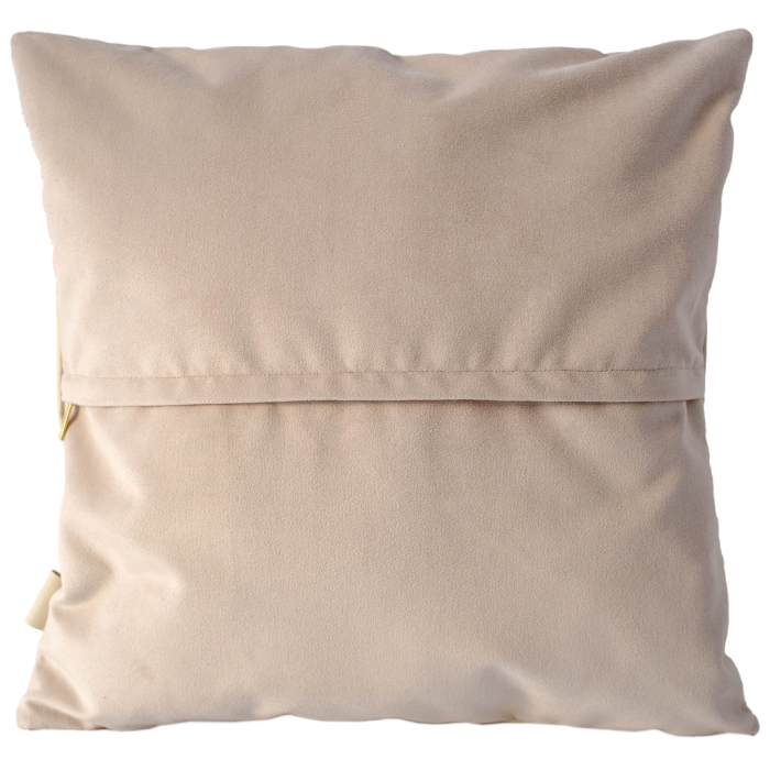 Чехол для подушки с наполнителем | Молочный